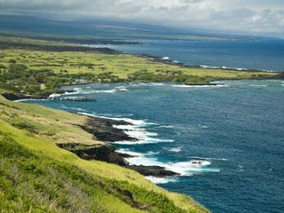 Wood Valley Pahala cottage photo - Breathtaking view of the Kau coastline!