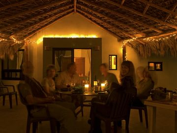 nights under the palapa, sweet!