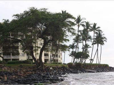 View of the Royal Mauian Complex from Kamaole Beach Park 1