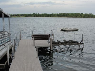 Dock and our new swim platform