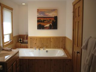 Galena house photo - Relax in the Master Bath with Jacuzzi Tub