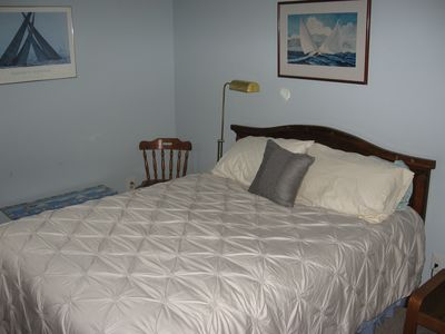 Harpswell cottage rental - Master Bedroom