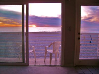 Hermosa Beach condo rental - God paints a new sky every evening