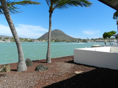 Fabulous Kokohead view, overlooking the Marina at Hawaii Kai