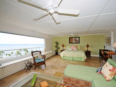 Diamond Head condo rental - Full ocean views from the entire apartment