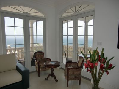 Cap Estate villa rental - Great Room (view of Martinique)