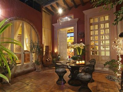Perfect for entertaining or just relaxing…..your courtyard is a private dream