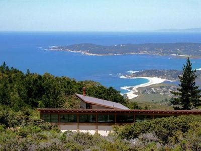 Ridge Top Setting Offers Views of Carmel-by-The-Sea, Pebble Beach and Santa Cruz