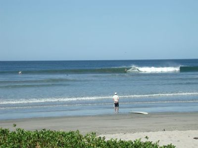 Tamarindo River Mouth - Lefts and Rights. Mellow sections, Hollow and Fast too