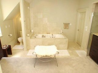 Austin house photo - Master Bathroom, Opposite Side Vanities, Large Stand up Shower, and Jetted Tub!