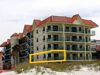 Direct Gulf View, Beautiful 2 bed/2 bath in Vistas on the Gulf