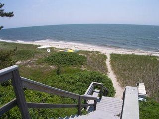 Harwich - Harwichport house photo - 2-3 minute walk to this private Nantucket Sound beach