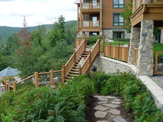 Mont Tremblant condo photo - Resort backyard