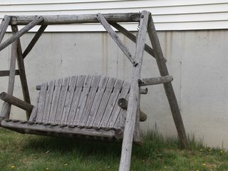 New Paltz house photo - Swing in back yard