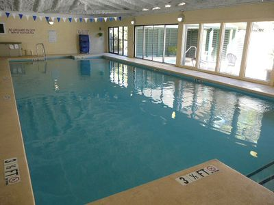 Forest Beach villa rental - Players Club Heated Indoor Pool And Jacuzzi