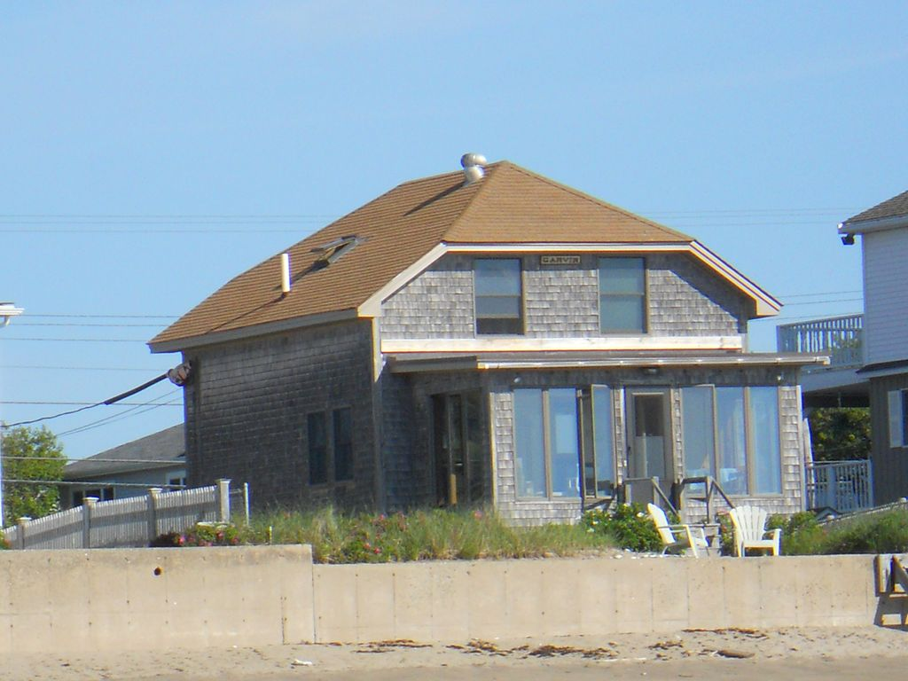 Tranquil Ocean Front Home On Private Moody Beach Vrbo