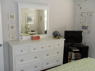 Indian Rocks Beach condo photo - New dresser in queen room