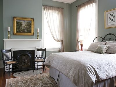 2nd Bedroom with period furnishings.