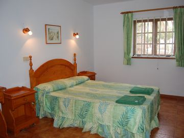 Main bedroom of a 2 bedroom villa