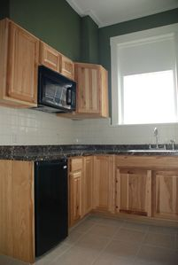 Seward apartment rental - kitchen