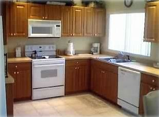Large, modern, fully equipped kitchen