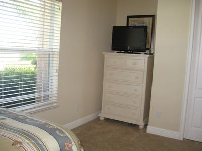 3rd bedroom features TV
