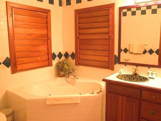 Ambergris Caye condo photo - Suite with jacuzzi in the master bathroom