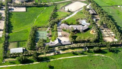 Aerial Photo Private Estate, Ranch Retreat