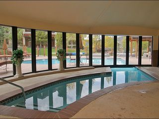 Steamboat Springs condo photo - When it is cold out, you can exit the pool inside