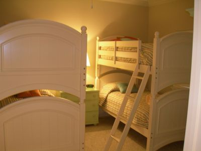 Light and Bright Bunk Room