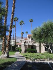 Palm Springs condo photo - Easy access from parking lot to convenient end unit