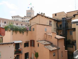 Piazza di Spagna apartment photo - Rooftop view from the living room