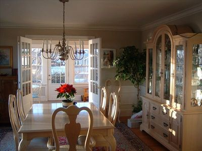Dining Room to Sun Porch