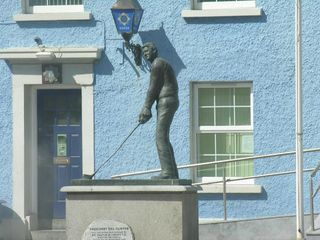 Tralee & North Kerry house photo - The Bill Clinton Sculpture in Ballybunion!