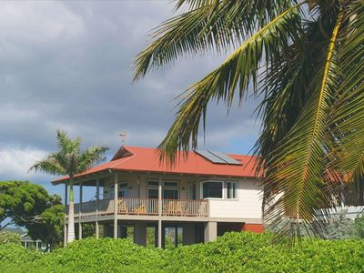 Kekaha house rental - The Ultimate Oceanfront Beach House in West Kaua'i.