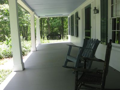 New Milford property rental - Front porch