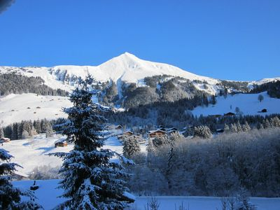 Gstaad-Lauenen apartment rental - The view from the kitchen
