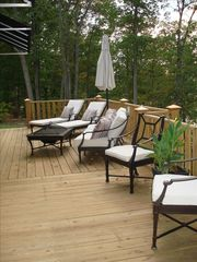Lewis Smith Lake house photo - Outside deck