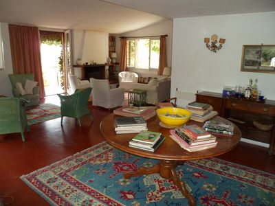 Porto Ercole villa rental - living room
