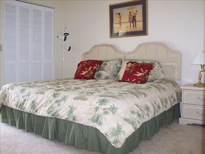 King size bed (converts to two twin beds) in the 2nd bedroom; private bathroom