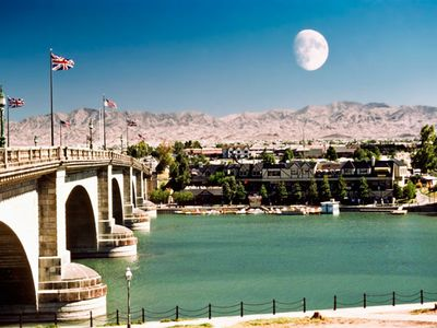 Downtown Lake Havasu in Lake Havasu City, Arizona