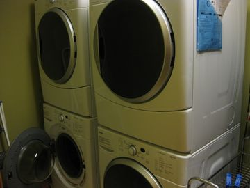 2 sets of Washer/Dryers included in the unit