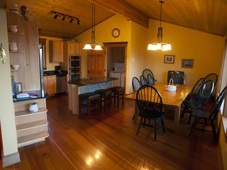 Lutsen lodge photo - Large kitchen seats 12 in all the amenities a chef would love.