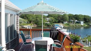 Falmouth house photo - Relax on Deck