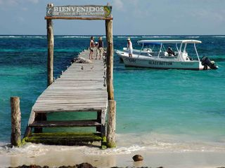 Puerto Morelos condo photo - Dock in town square to reef, fishing, snorkeling, and scuba.