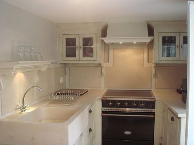 Fully equipped Chateau style kitchen