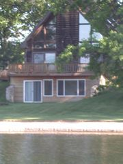 Decatur chalet photo - Lake Side from Lake