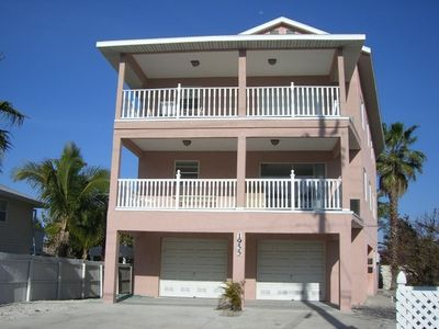 Bradenton Beach house rental - Gulfview Balconies on Each Floor!