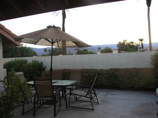Courtyard - Palm Desert condo vacation rental photo