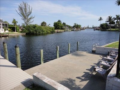 Private Dock on saltwater canal with Gulf Access